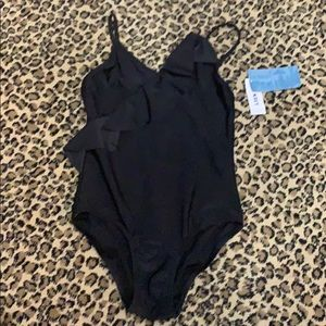 Black swimsuit for girls